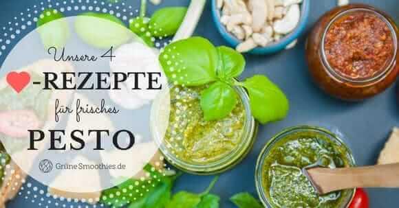 Pesto Rezepte aus dem Mixer