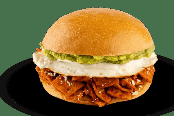 Sándwich de Chilaquil