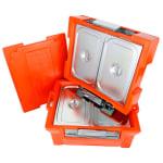 Caixa Térmica Hot Box GN 80 + prolongador para até duas cubas GN - 1/1 x 150 mm