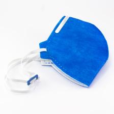 Máscara descartável - Respirador Semifacial PFF2 - Azul