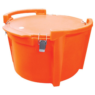 Caixa Térmica Redonda Multiuso - quente ou frio - Hot-100 Granel
