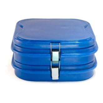 Marmibox 4x2 com capacidade para transporte de 8 marmitas nº 8 ou 9