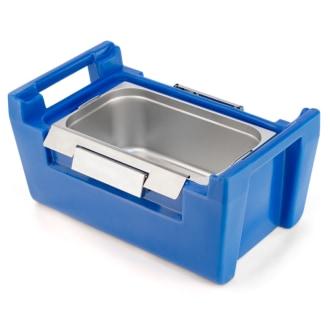Caixa Térmica Hot Box 30 litros para até duas cubas Gastronorm GN 1/2 x 200 mm