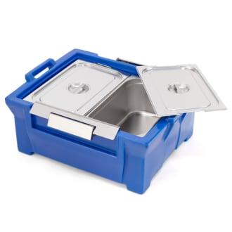 Caixa Térmica Hot Box 80 litros GN-80 para duas cubas Gastronômica GN 1/1 200 mm