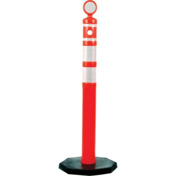 Balizador Tubular Canalizador de Fluxo 1,25 m
