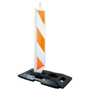 Barreira Plástica Vertical Lamela para Sinalização 1,30 m e 28 kg