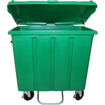 Container de Lixo 700 litros com pedal frontal