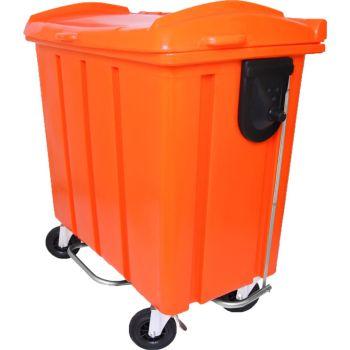 Container de Lixo 500 litros com pedal frontal