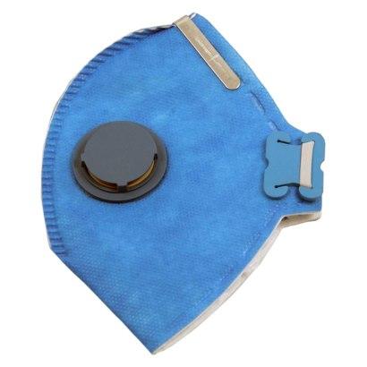 Máscara descartável - Respirador Semifacial PFF2 - Azul Com Válvula