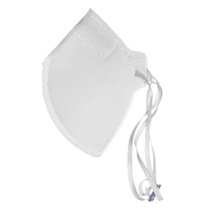 Respirador Semifacial PFF2 com Clipe Nasal Embutido - Branco