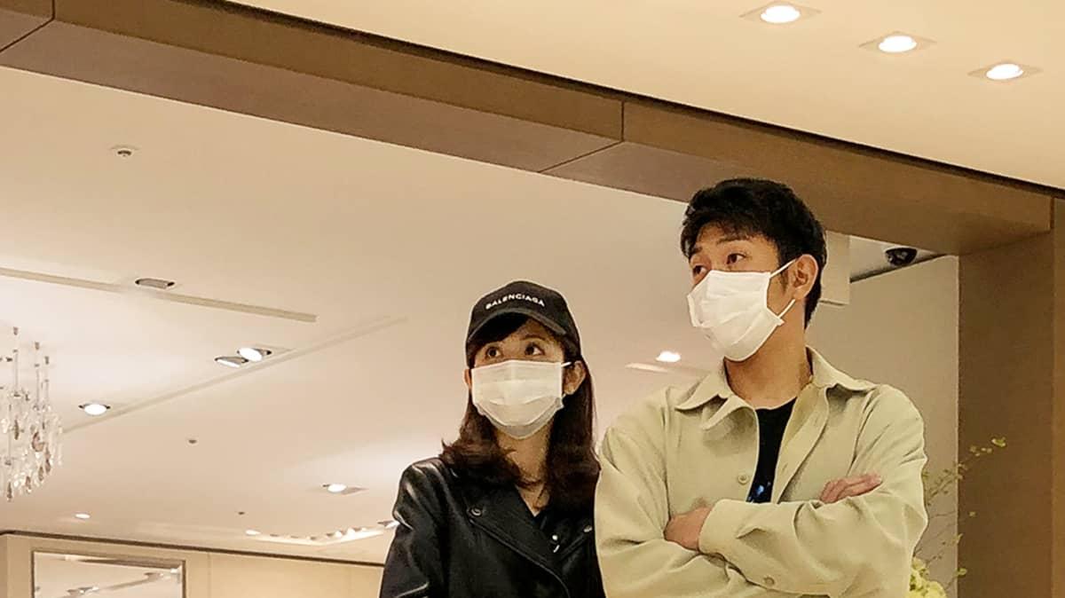 フジ・久慈暁子アナ&ヤクルト・原 樹理投手の「ほぼ同棲生活 ...