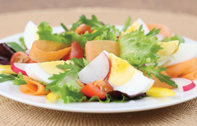 salad - Tips Cara Sehat Memakan Daging