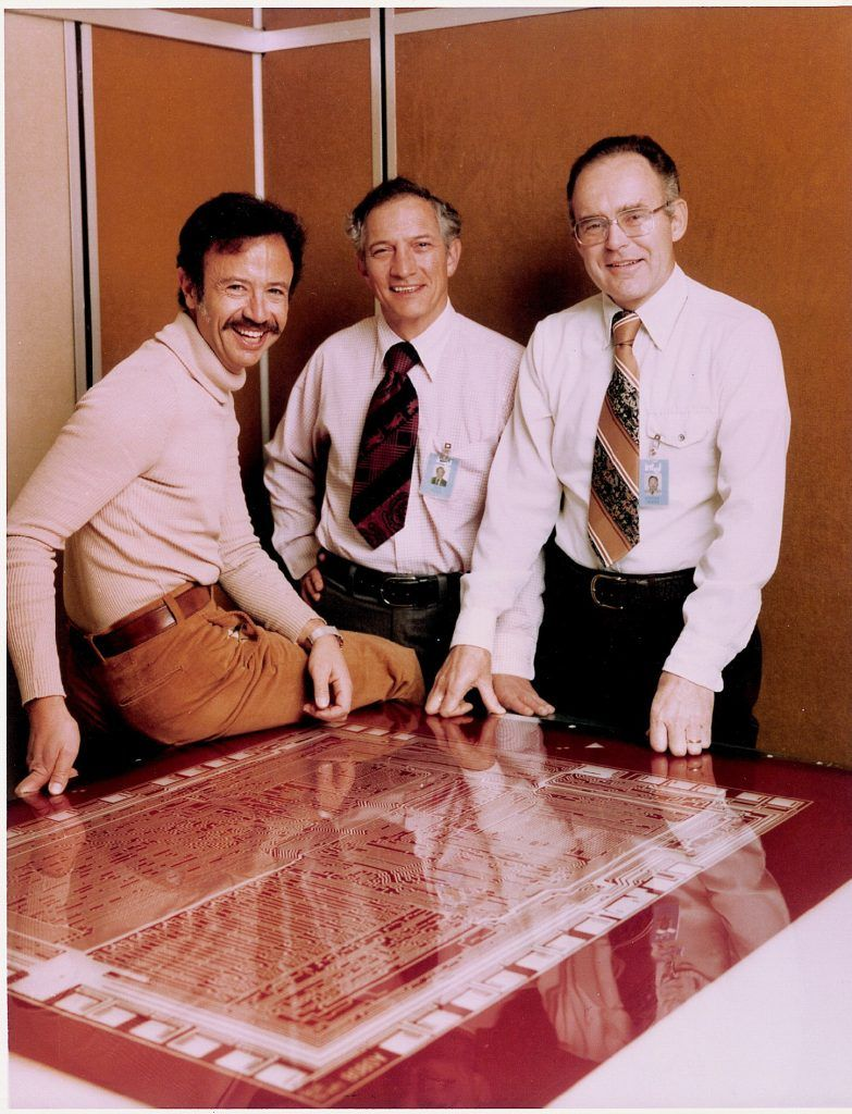 Andy Grove Gordon Moore