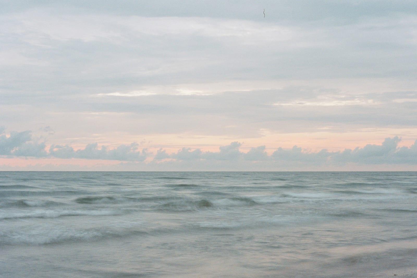 Dawn on the beach at Padre island, TX.