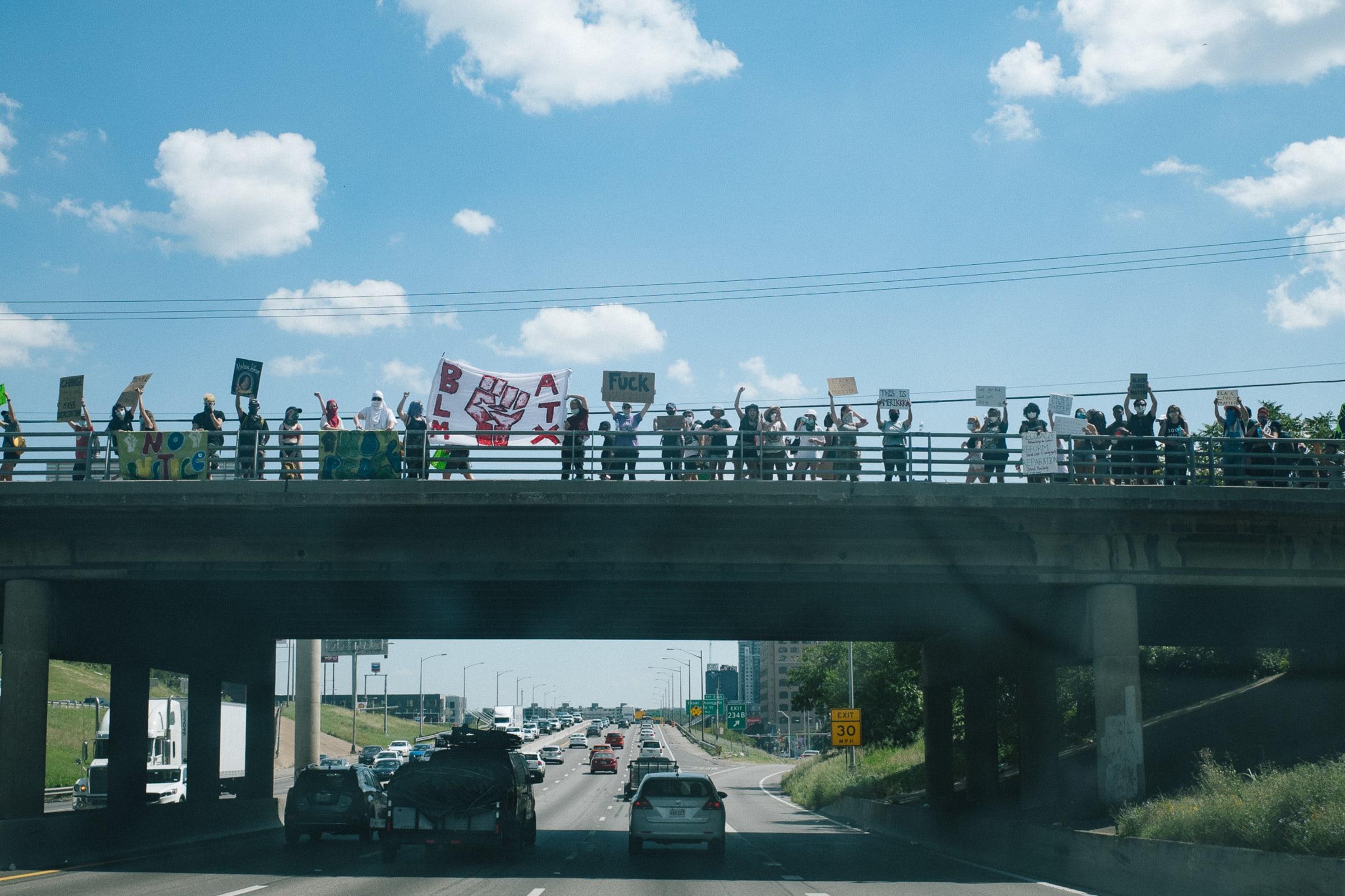 BLM Protest, Austin