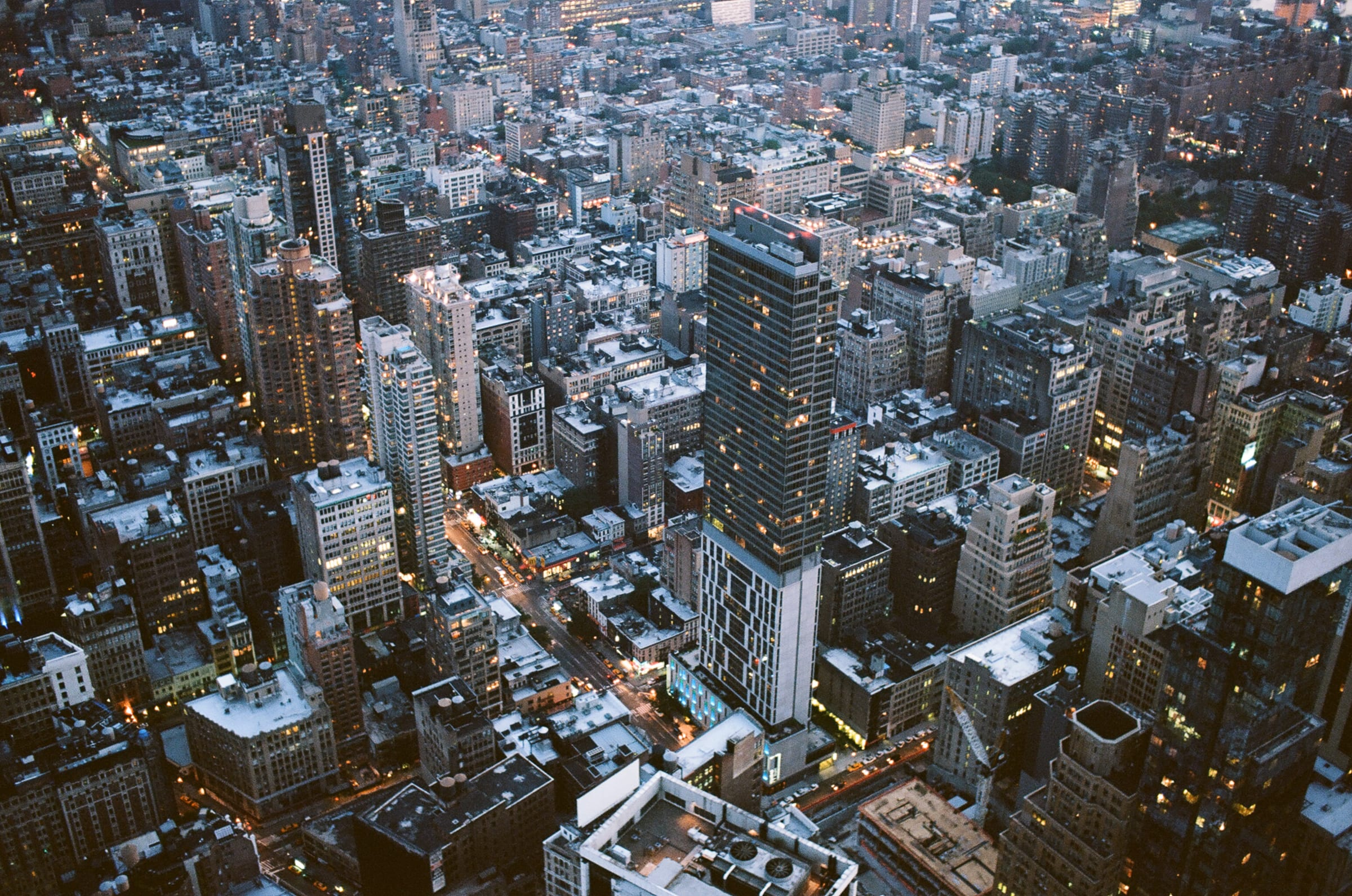 High rises at New York City