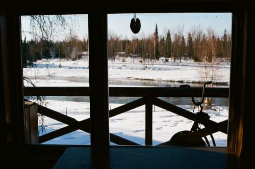 冬日-窗外