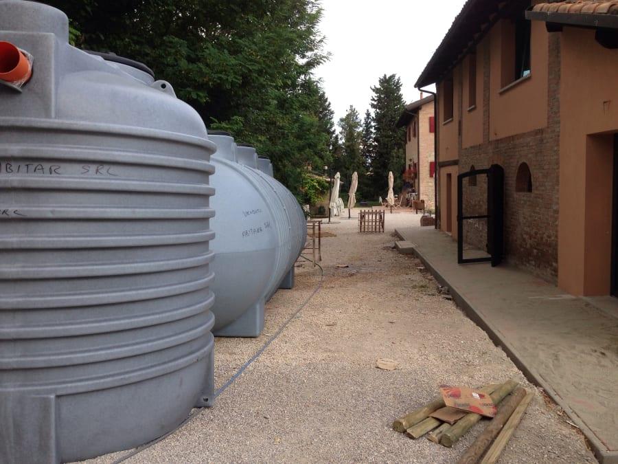 Agriturismo Guardastelle Bologna - 2014 LA RISTRUTTURAZIONE DEL FIENILE
