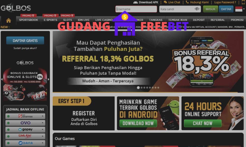 GOLBOS freebet