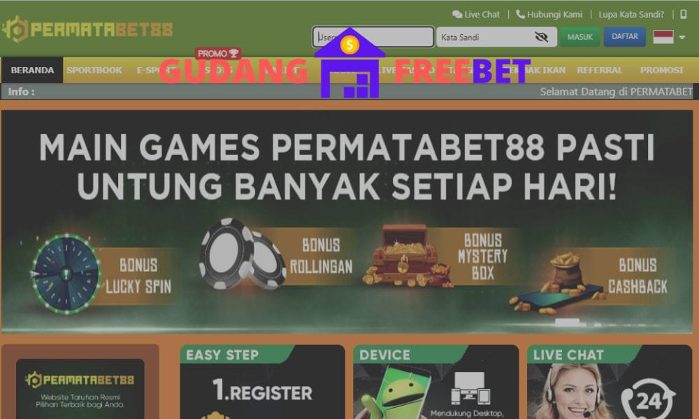 PERMATABET88 freebet