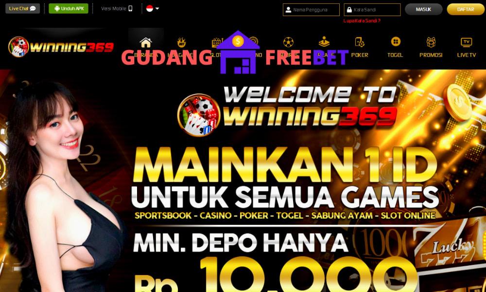 WINNING369 freebet