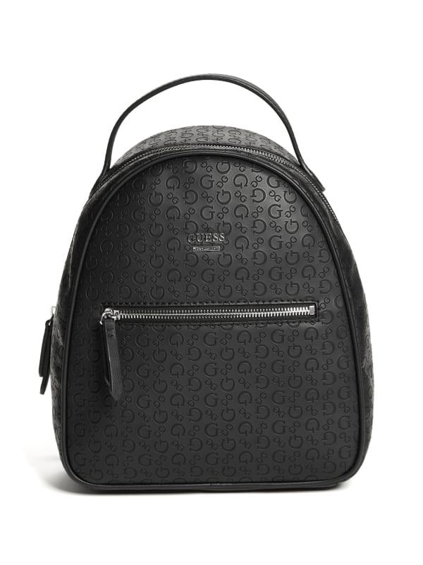 Mayette Logo Debossed Backpack
