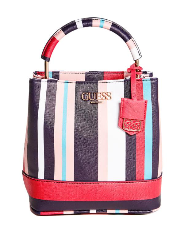 Nicolette Square Bucket Bag