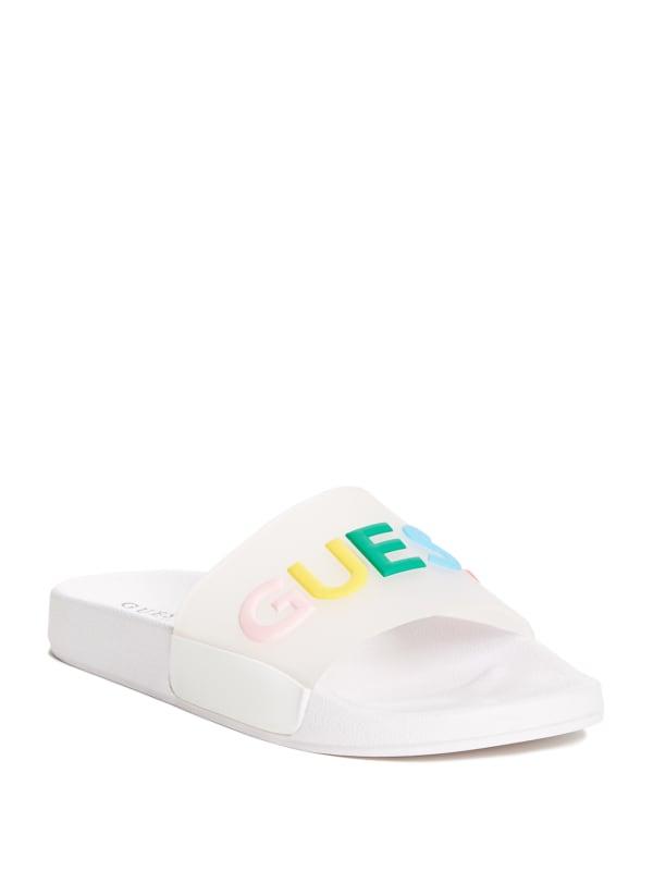 Lana Logo Slide Sandals