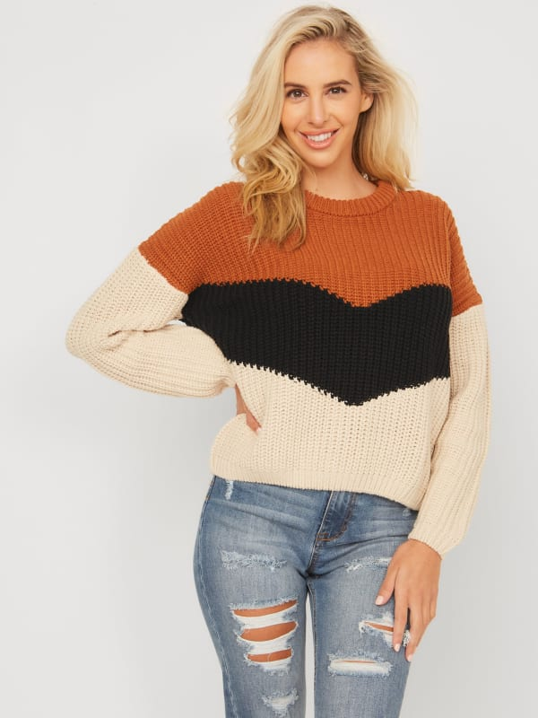 Ember Color-Block Sweater