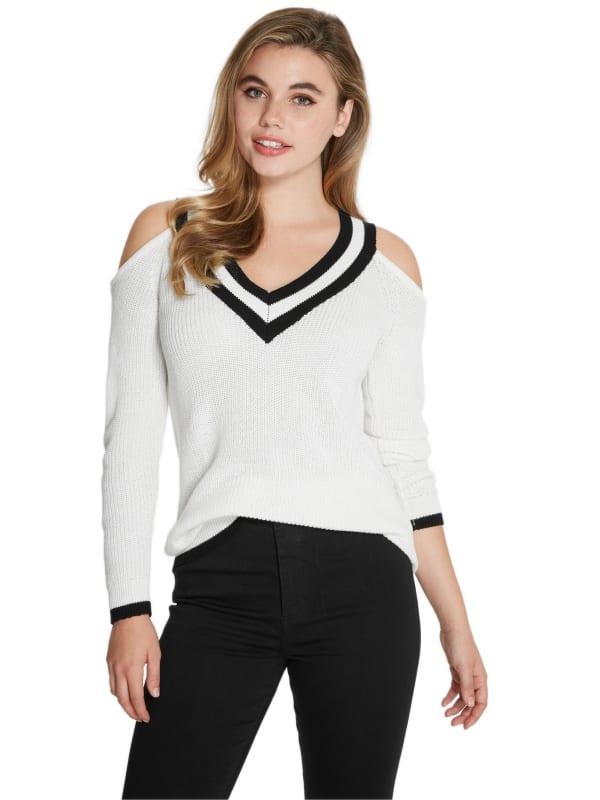 Cheridan Cold Shoulder Sweater