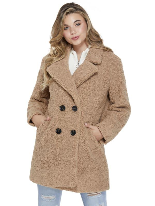 Juli Oversized Teddy Coat
