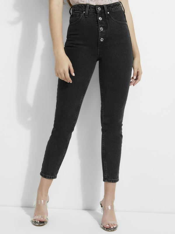 Super-High Rise '90s Skinny Jeans