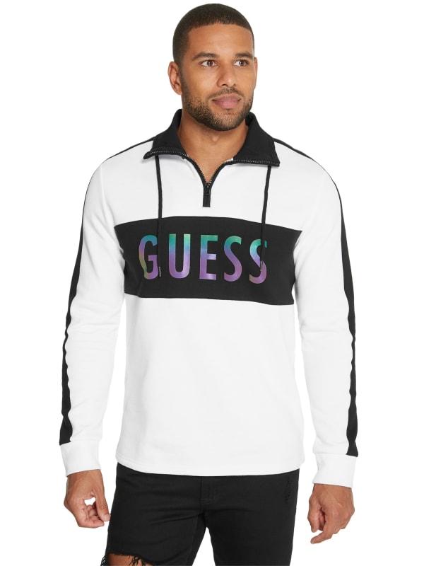 Seth Half-Zip Mock Neck Sweatshirt