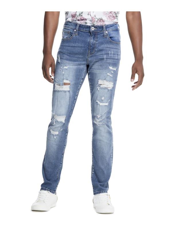 Stevie Destroyed Skinny Jeans