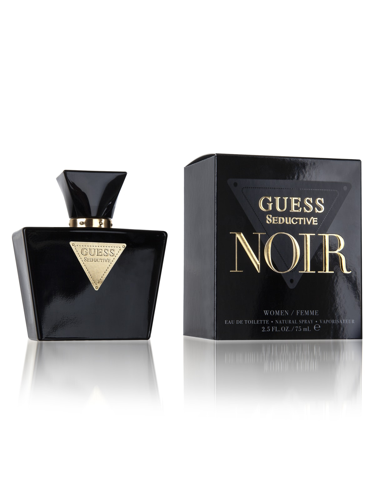 Guess Seductive Noir Eau De Toilette 2 5 Oz Guess Canada