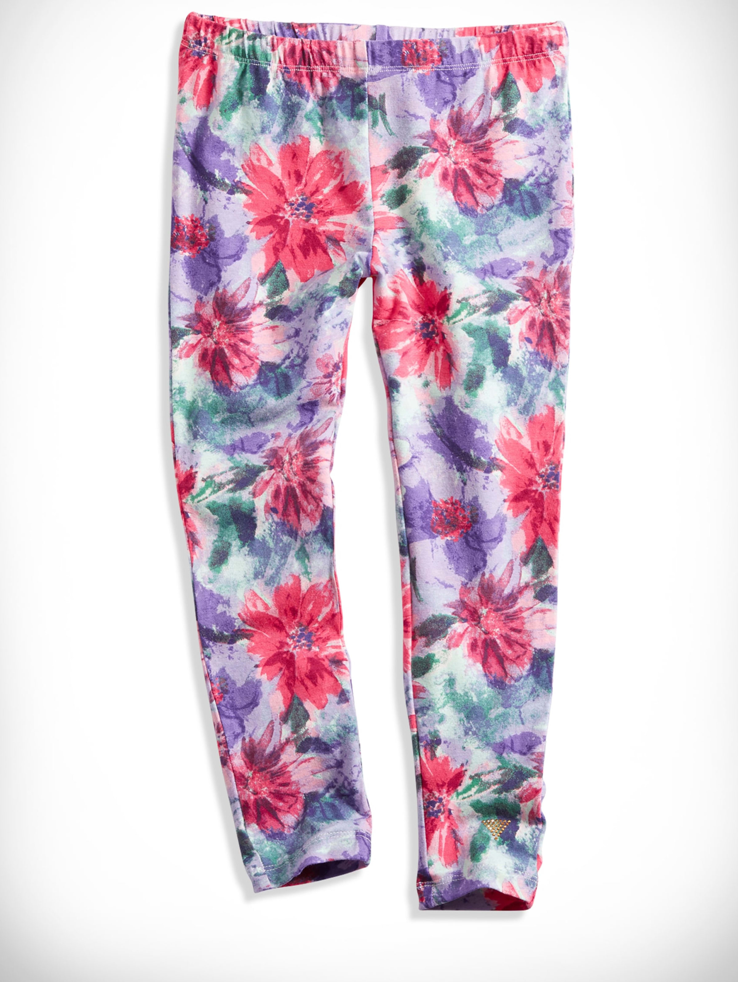 GUESS Girls Little Floral Printed Leggings