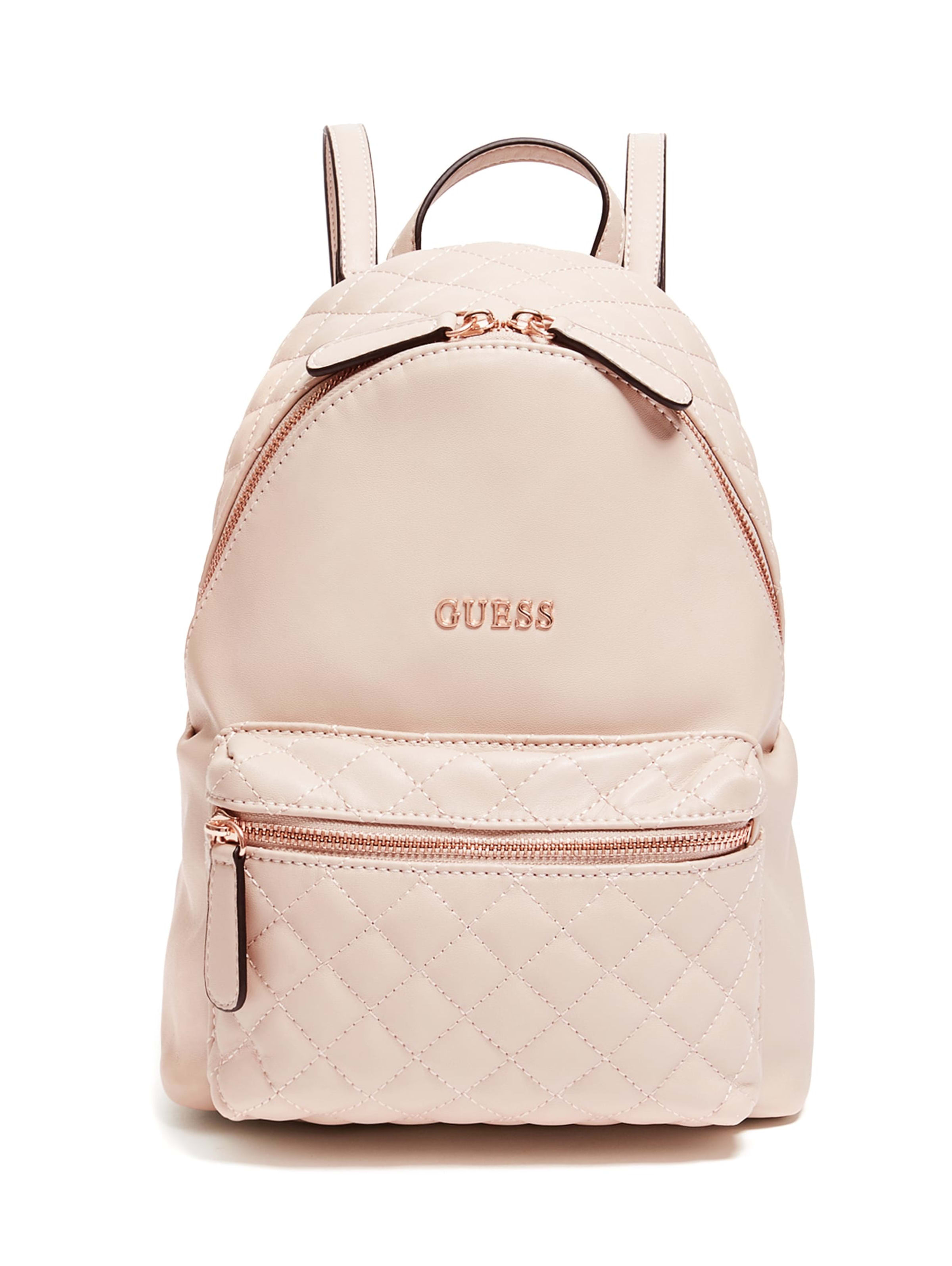 GUESS Factory Womens Zayn Rose Gold Backpack in 2020 | Gold