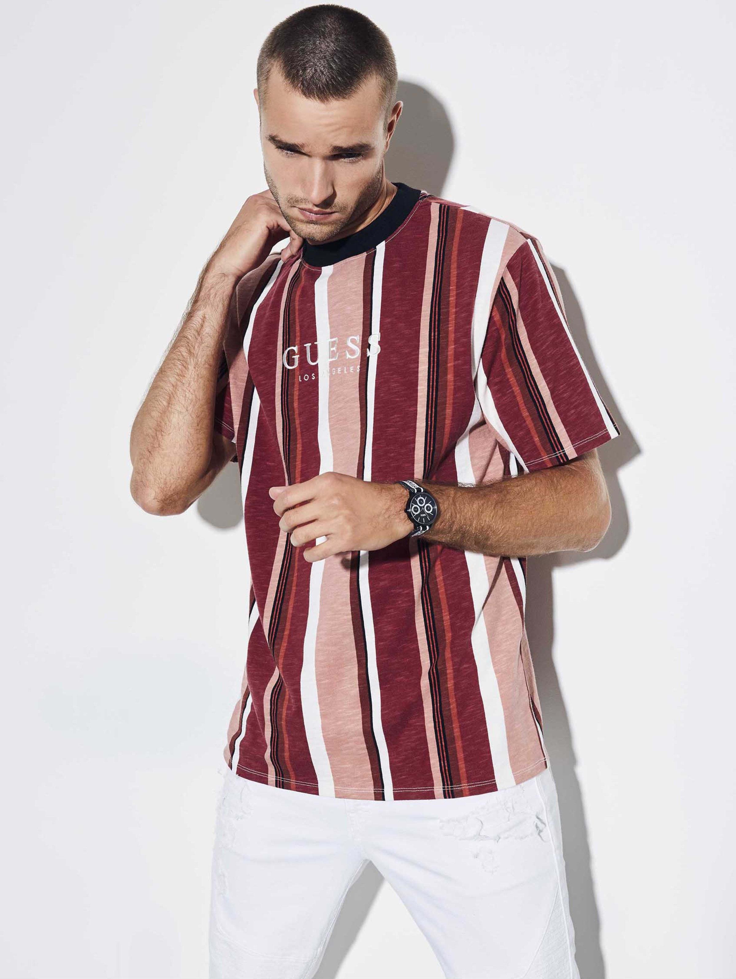 Originals Oversized Sayer Striped Tee | Striped tee, Mens