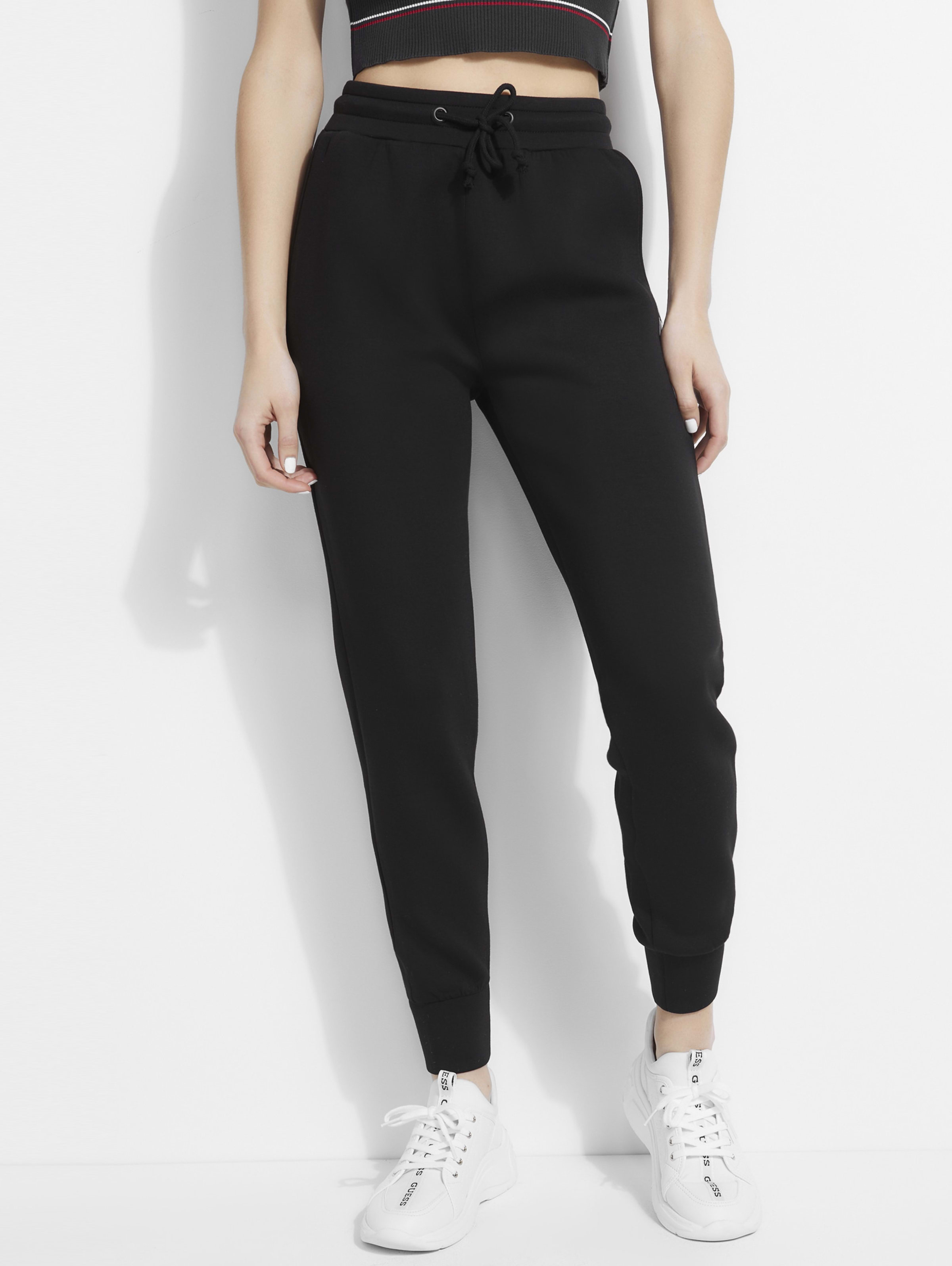 GUESS Womens Soft Casual Jogger Pants