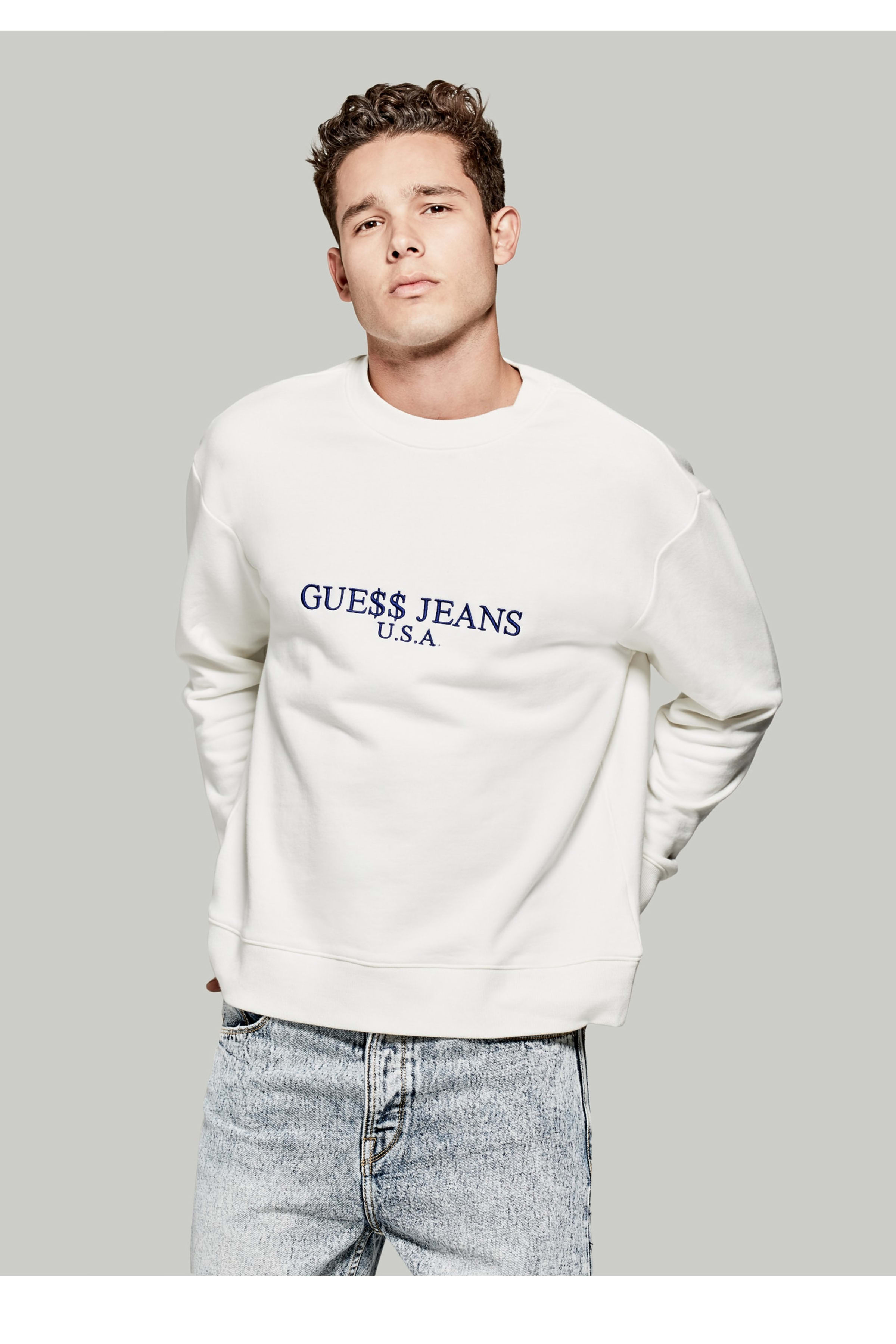speical tilbud løbesko god pasform A$AP Rocky Logo Sweatshirt | GUESS.ca