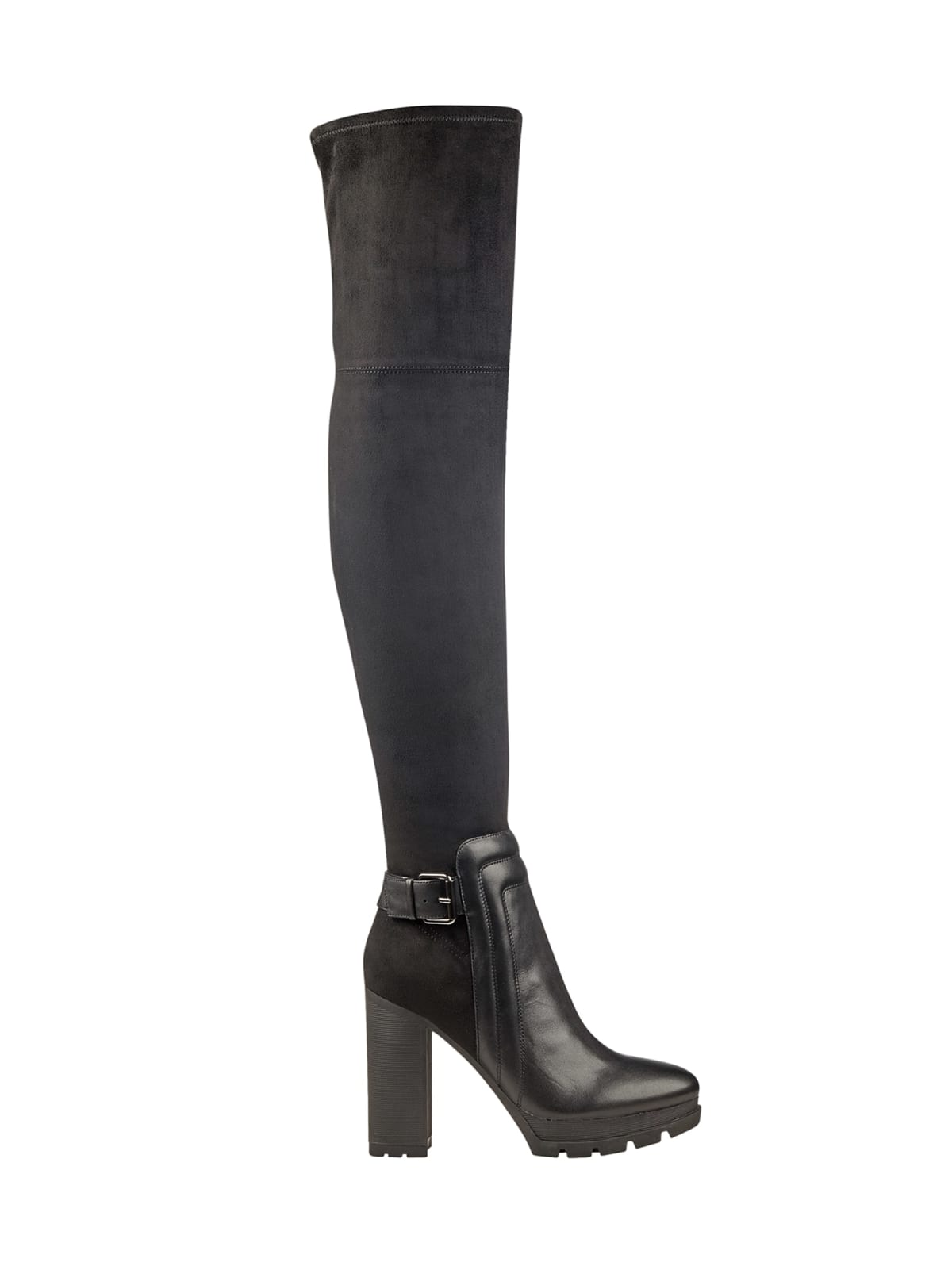 size 7 the cheapest fashion Sleek Over-The-Knee Boots | GUESS.com