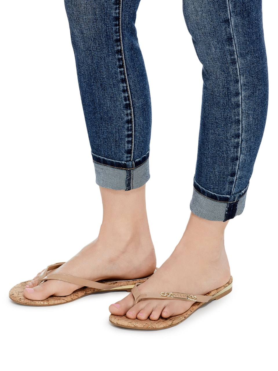 GUESS-Factory-Women-039-s-Christal-Flip-Flops thumbnail 20