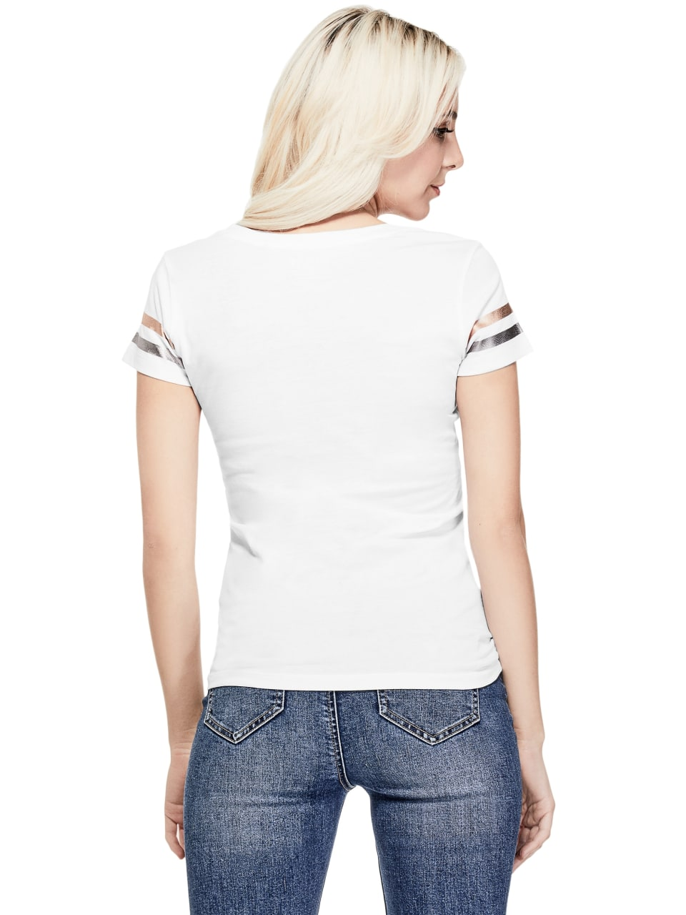 GUESS-Factory-Women-039-s-Las-Vegas-City-Tee thumbnail 12