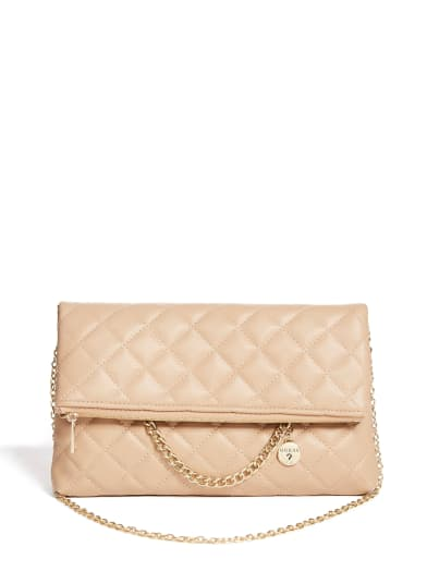 sale  Starry Dressy Foldover Clutch at Guess