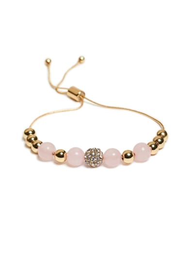 sale Stardust Pink Beaded Bracelet at Guess