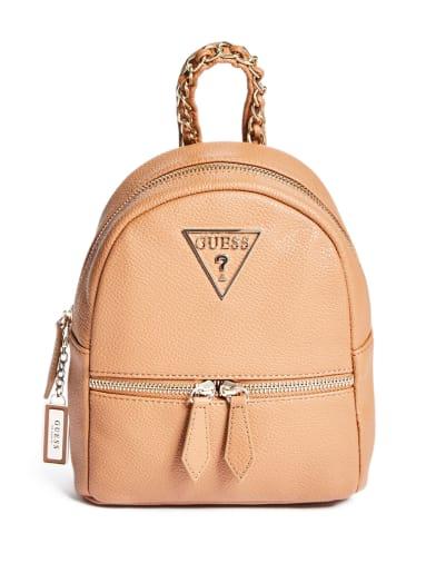 women  Magari Mini Chain Backpack at Guess