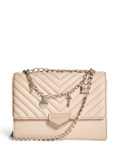 women  Julina Quilted Crossbody at Guess