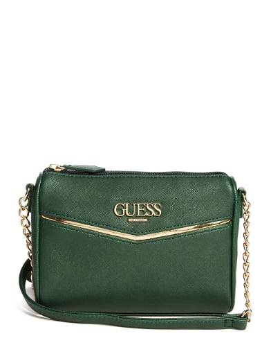women  Valora Logo Crossbody at Guess