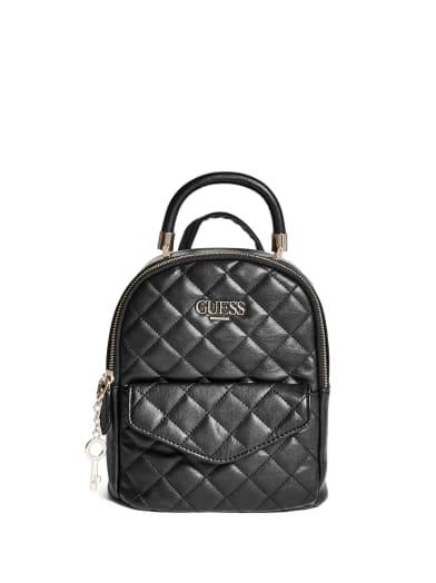 women  Catalina Convertible Mini Backpack at Guess