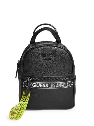women  Paulina Convertible Logo Backpack at Guess